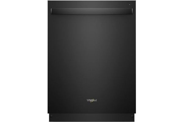 """Whirlpool 24"""" Black Built-In Dishwasher - WDT730PAHB"""