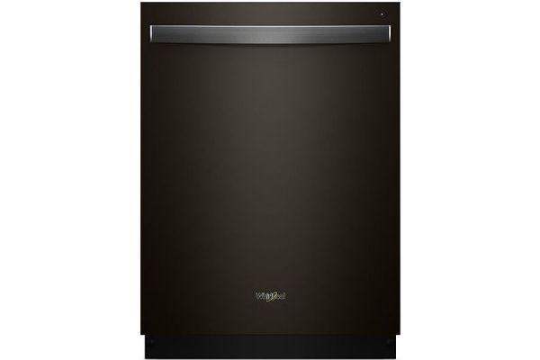 "Whirlpool 24"" Black Stainless Steel Built-In Dishwasher - WDT730PAHV"