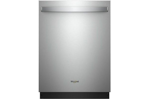 "Whirlpool 24"" Stainless Steel Built-In Dishwasher - WDT730PAHZ"