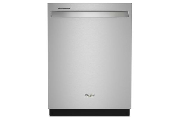 """Large image of Whirlpool 24"""" Fingerprint Resistant Stainless Steel Large Capacity Dishwasher With 3rd Rack - WDT750SAKZ"""