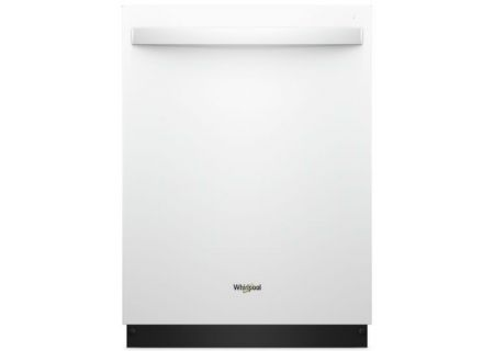Whirlpool TotalCoverage Spray White Built-In Dishwasher - WDT750SAHW