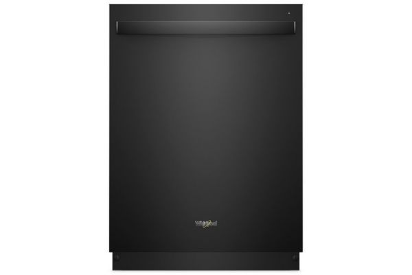 """Large image of Whirlpool 24"""" Black Built-In Dishwasher - WDT970SAHB"""