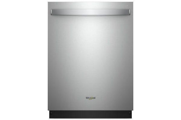 "Whirlpool 24"" Print Resistant Stainless Steel Built-In Dishwasher - WDT970SAHZ"