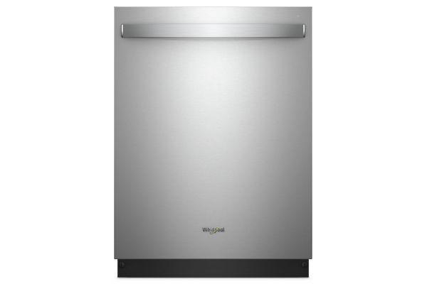 "Whirlpool 24"" Stainless Steel Built-In Smart Dishwasher - WDT975SAHZ"