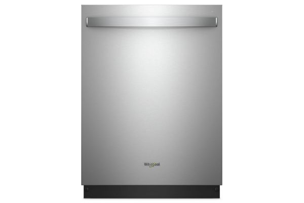 "Large image of Whirlpool 24"" Stainless Steel Built-In Smart Dishwasher - WDT975SAHZ"