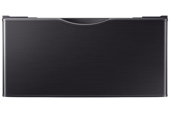 """Large image of Samsung 27"""" Brushed Black Washer Or Dryer Pedestal - WE402NV/A3"""