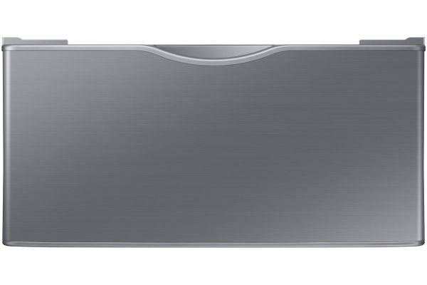 """Large image of Samsung 27"""" Platinum Washer Or Dryer Pedestal - WE402NP/A3"""
