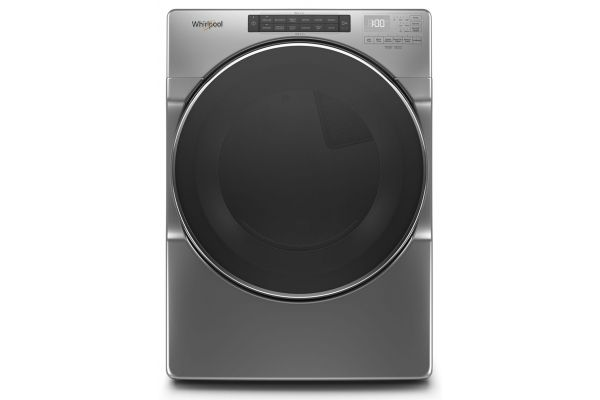 Large image of Whirlpool 7.4 Cu. Ft. Chrome Shadow Electric Dryer - WED6620HC