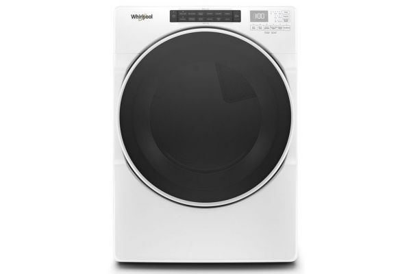 Large image of Whirlpool 7.4 Cu. Ft. White Electric Dryer - WED6620HW