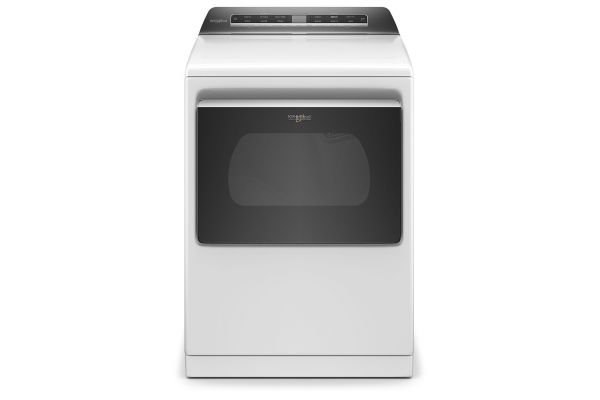 Large image of Whirlpool 7.4 Cu. Ft. White Smart Electric Dryer - WED7120HW