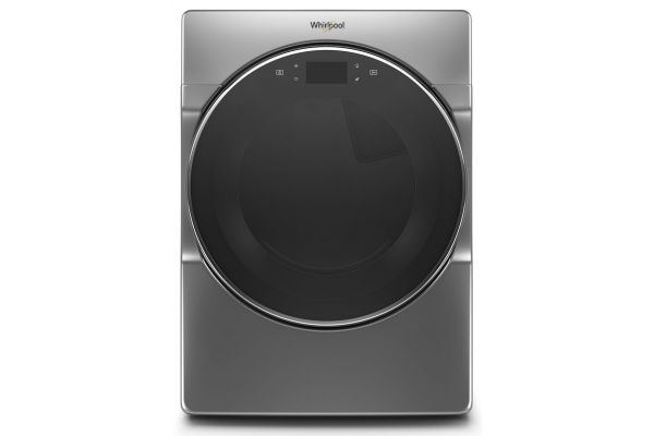Large image of Whirlpool 7.4 Cu. Ft. Chrome Shadow Electric Dryer - WED9620HC