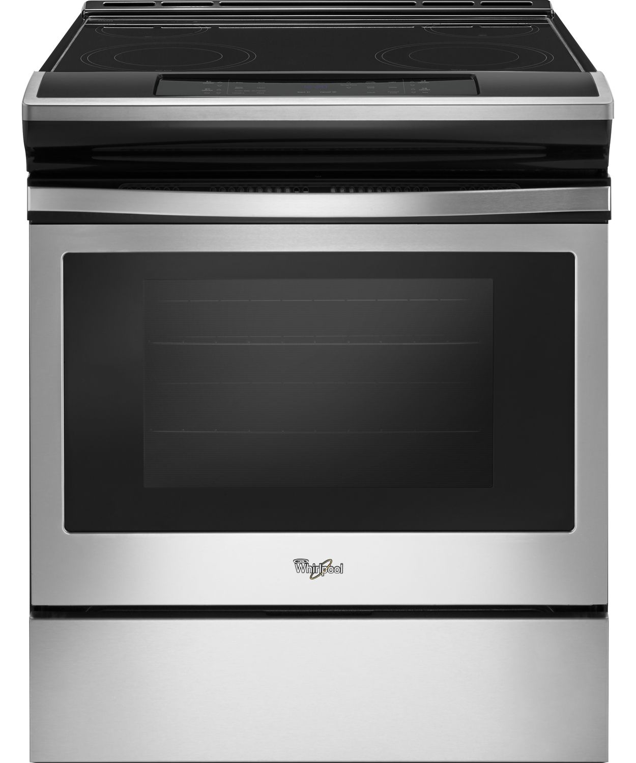 Whirlpool Stainless Slide In Electric Range Wee510s0fs
