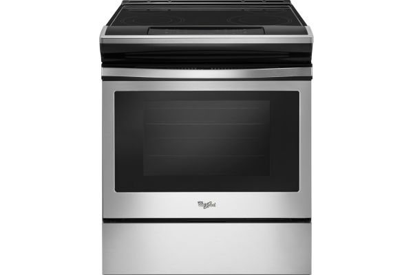 Large image of Whirlpool Stainless Steel Slide-In Electric Range - WEE510S0FS