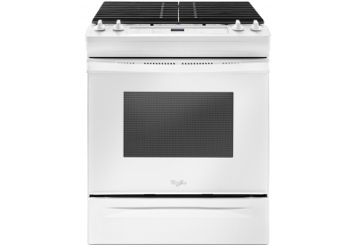 Whirlpool - WEG515S0FW - Slide-In Gas Ranges