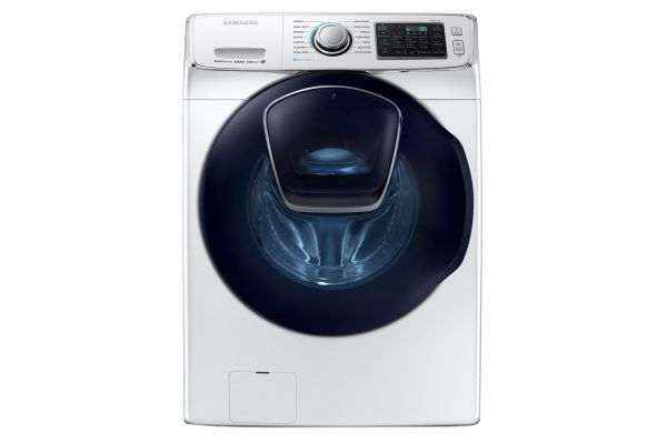 Samsung White Front Load Steam Washer - WF45K6500AW