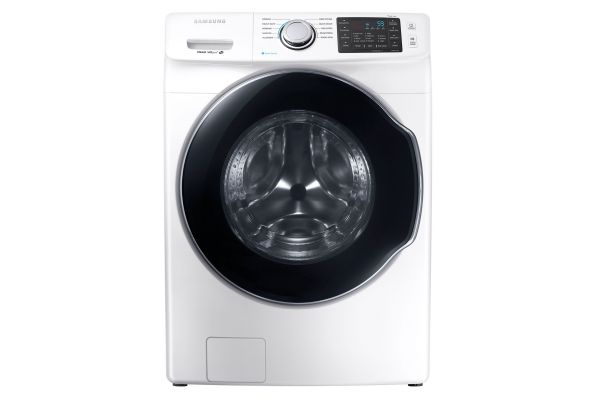 Samsung White Front Load Steam Washer - WF45M5500AW