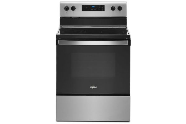 Large image of Whirlpool 5.3 Cu. Ft. Stainless Steel Electric Range With Keep Warm Setting - WFE320M0JS