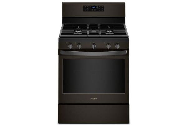 Whirlpool Black Stainless Steel 5.0 Cu. Ft. Freestanding Gas Range - WFG525S0HV