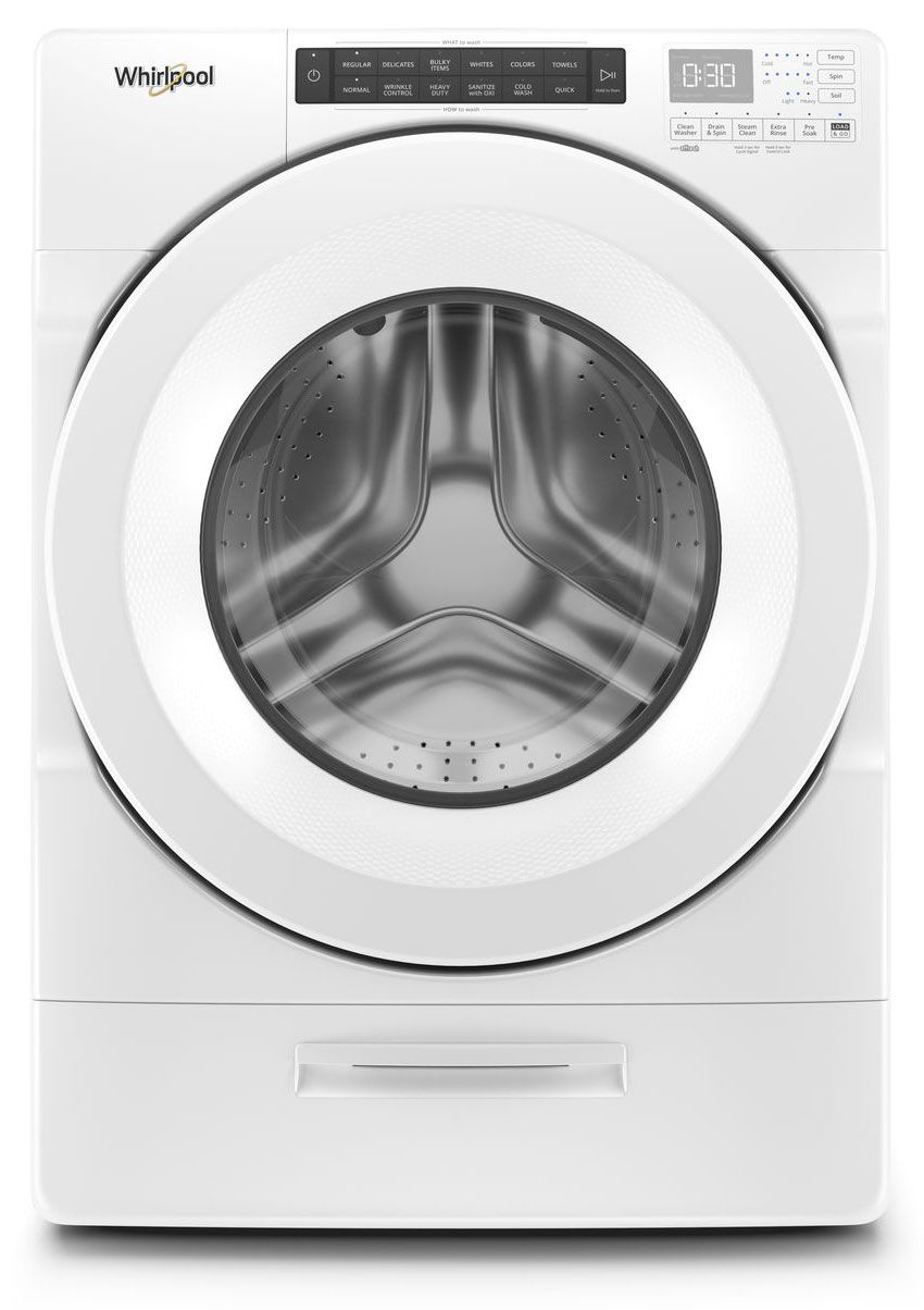 Whirlpool 4.5 Cu. Ft. White Front Load Washer on