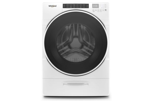 Large image of Whirlpool 4.5 Cu. Ft. White Front Load Washer - WFW6620HW