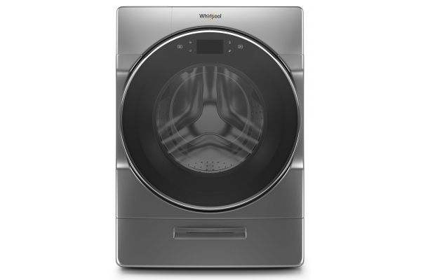 Whirlpool 5.0 Cu. Ft. Chrome Shadow Front Load Washer - WFW9620HC