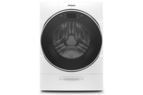 Large image of Whirlpool 5.0 Cu. Ft. White Front Load Washer - WFW9620HW