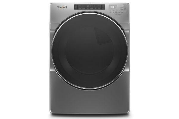 Large image of Whirlpool 7.4 Cu. Ft. Chrome Shadow Gas Dryer - WGD6620HC