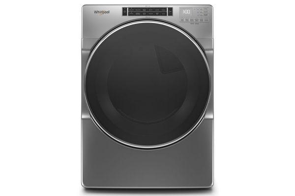 Large image of Whirlpool 7.4 Cu. Ft. Chrome Shadow Gas Dryer - WGD8620HC