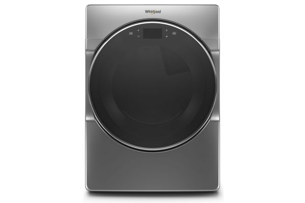 Whirlpool 7.4 Cu. Ft. Chrome Shadow Gas Dryer - WGD9620HC