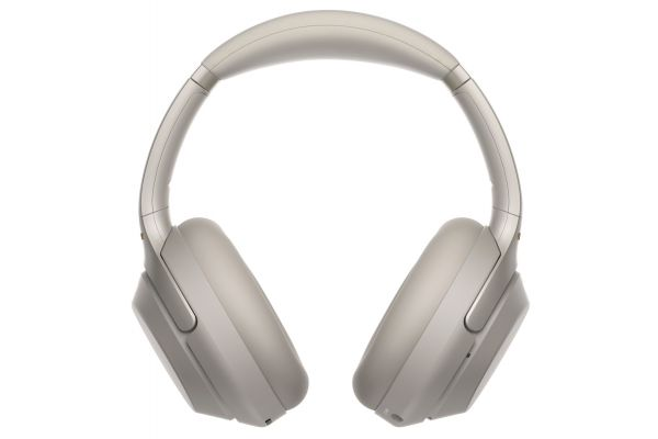 Sony Silver Wireless Noise Canceling Overhead Headphones - WH1000XM3/S