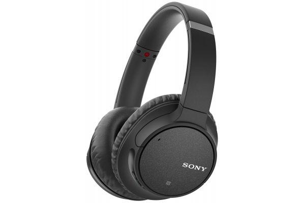 Large image of Sony Black Over-Ear Wireless Noise Canceling Headphones - WHCH700N/B