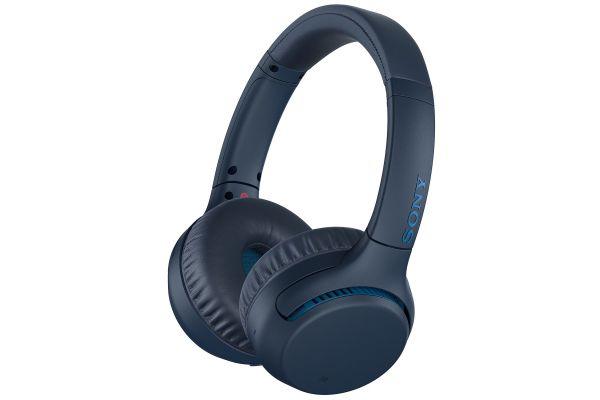Sony Blue Wireless Extra Bass On-Ear Headphones - WH-XB700/L
