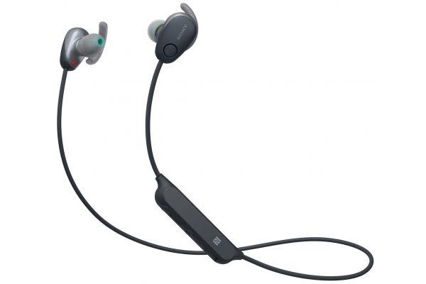 Large image of Sony Black In-Ear Wireless Noise Canceling Headphones - WISP600N/B