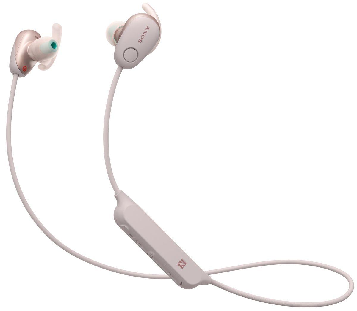 3cfd4543dd3 Sony Pink In-Ear Wireless Noise Canceling Headphones - WI-SP600N/P