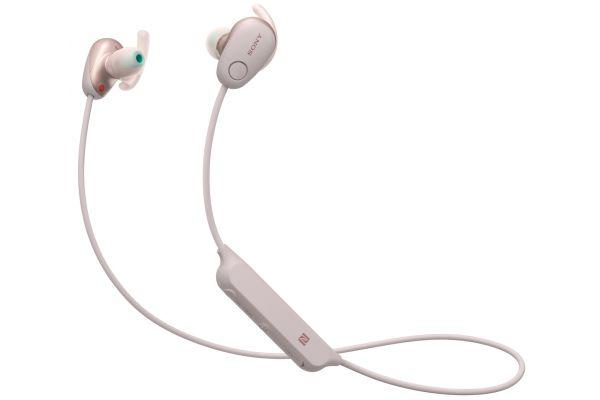 Sony Pink In-Ear Wireless Noise Canceling Headphones - WISP600N/P