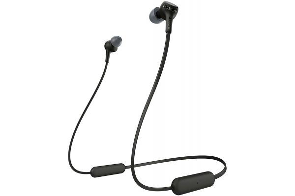 Large image of Sony Black EXTRA BASS Wireless In-Ear Headphones - WIXB400/B