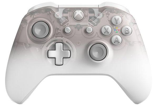 Microsoft Xbox One Phantom White Special Edition Wireless Controller - WL3-00120
