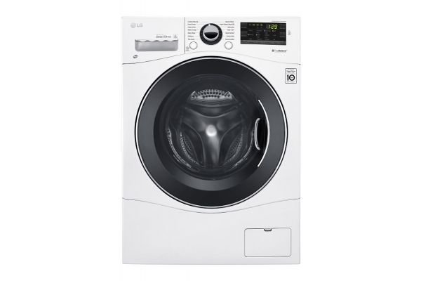 "LG 24"" White Compact Front Load Washer - WM1388HW"