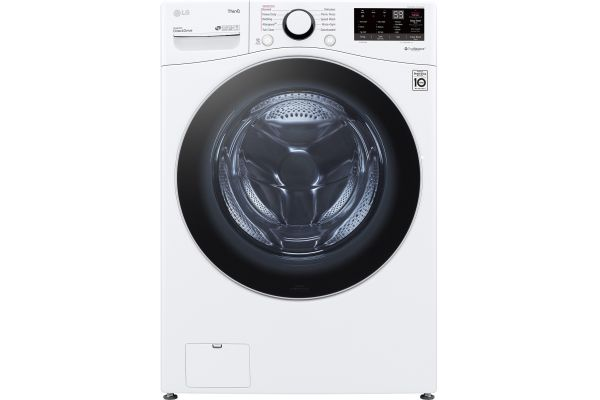 Large image of LG 4.5 Cu. Ft. White Front Load Steam Washer - WM3600HWA
