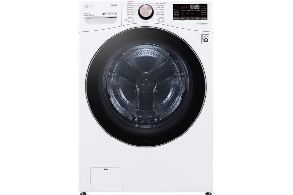 Large image of LG 4.5 Cu. Ft. White Front Load Steam Washer - WM4000HWA