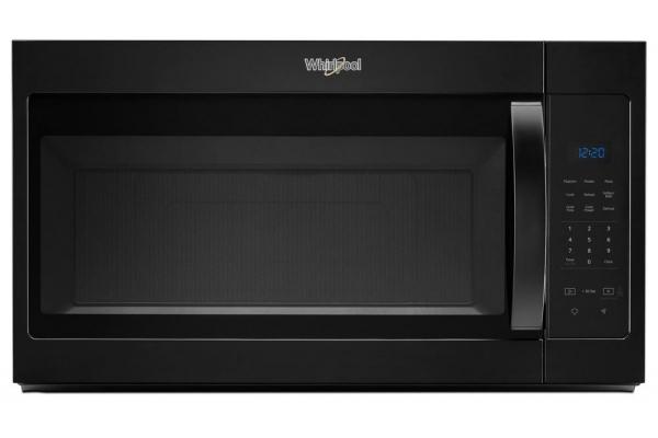 Whirlpool Black Over-The-Range Microwave Hood Combination - WMH31017HB