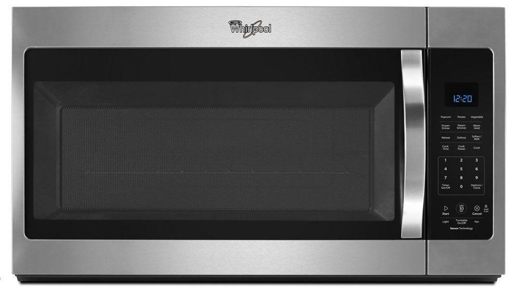 Whirlpool Fingerprint Resistant Stainless Steel Over The Range Microwave Hood Combination Wmh32519fz