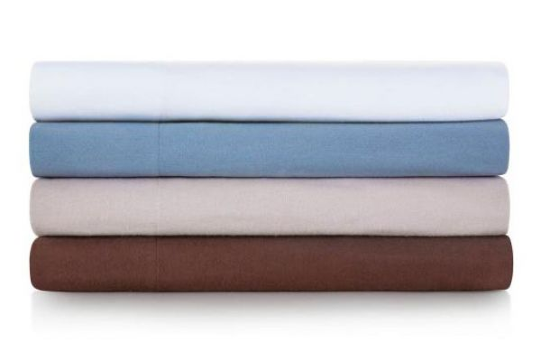 Large image of Malouf Woven Pacific King Portuguese Flannel Pillowcases - WO20KKPAFC