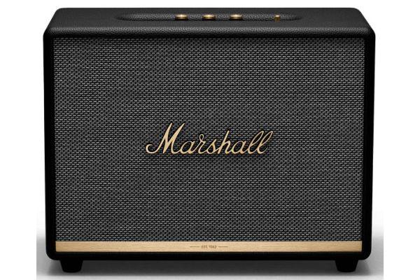 Large image of Marshall Woburn II Black Bluetooth Speaker - 1002489