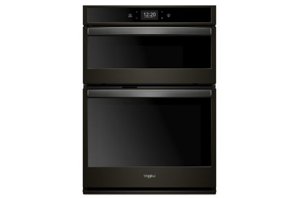 Whirlpool 5.7 Cu. Ft. Black Stainless Steel Smart Combination Wall Oven - WOC75EC7HV