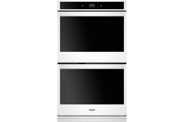 "Large image of Whirlpool 30"" White Smart Double Electric Wall Oven - WOD51EC0HW"