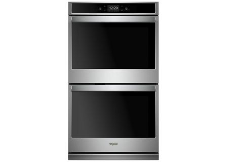 Whirlpool 10 Cu. Ft. Stainless Steel Smart Convection Double Wall Oven - WOD97EC0HZ