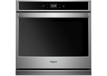 "Whirlpool 30"" Stainless Steel Smart Single Electric Wall Oven - WOS51EC0HS"