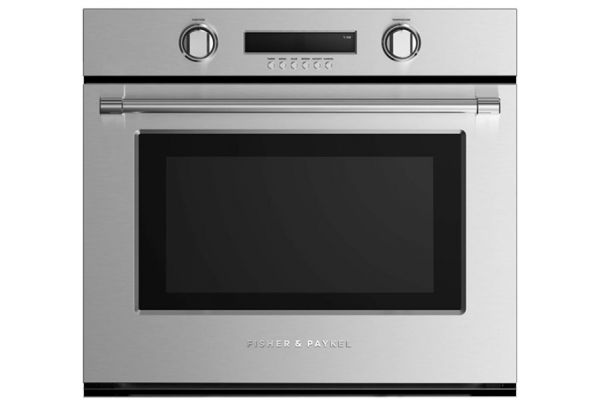 """Large image of Fisher & Paykel 30"""" Stainless Steel Single Built-In Oven - WOSV230N"""