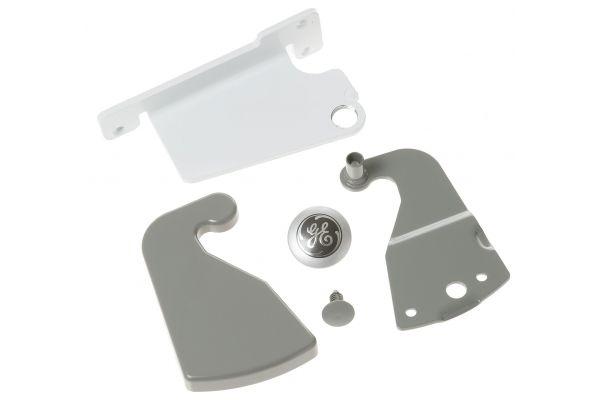 Large image of GE Refrigerator Reversible Door Hinge Kit - WR49X10189